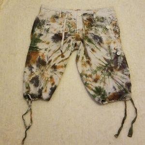 Tye Dye Cargo Shorts